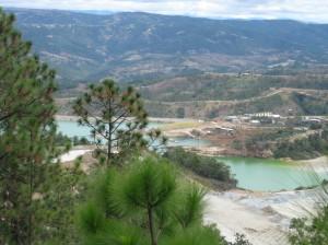 Tailings Pond at Goldcorp, Inc's Marlin Mine, Guatemala